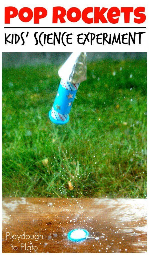 pop rockets using antacid