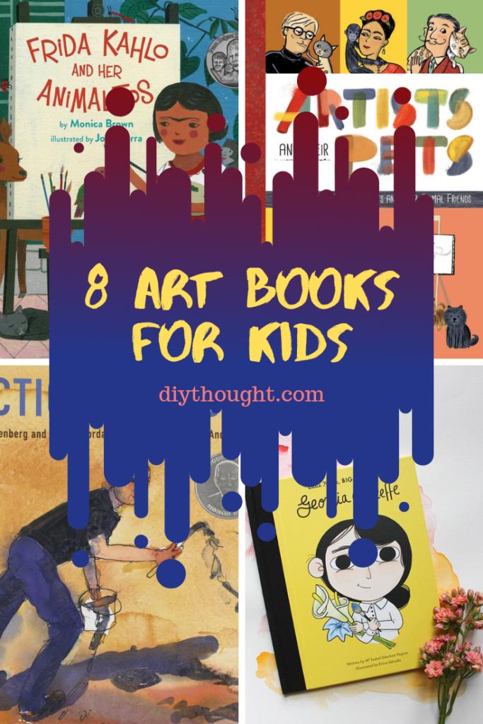 8 art books for kids