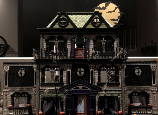 haunted house transformation