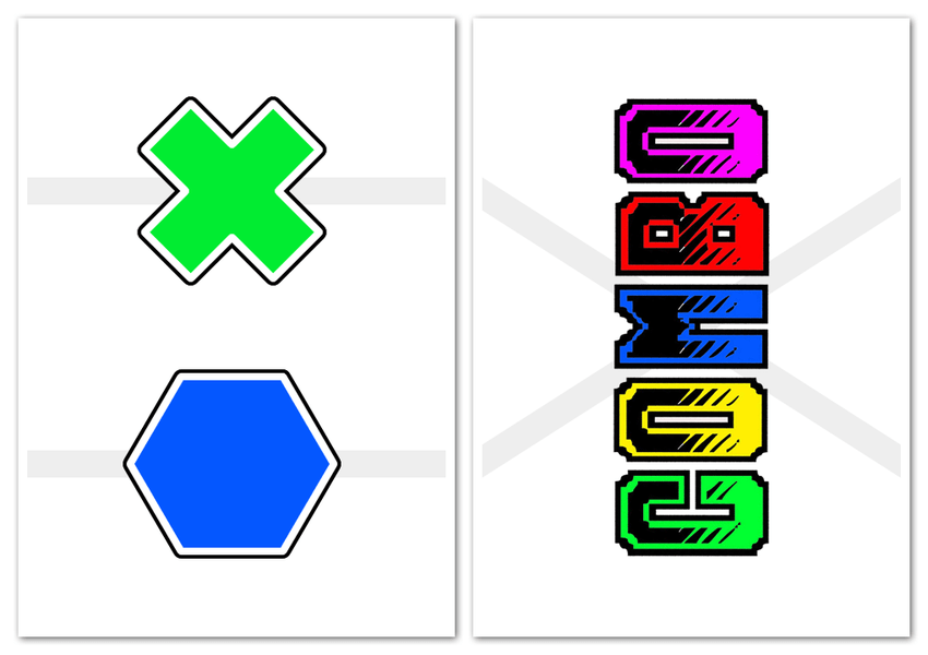 Combo free print and play card game