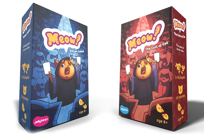 Meow! Free print and play card game.