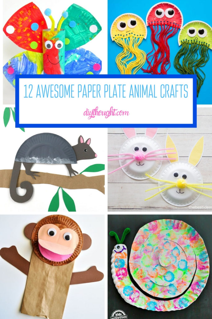 12 Awesome Paper Plate Animal Crafts