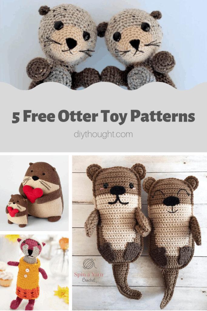 toy otter patterns