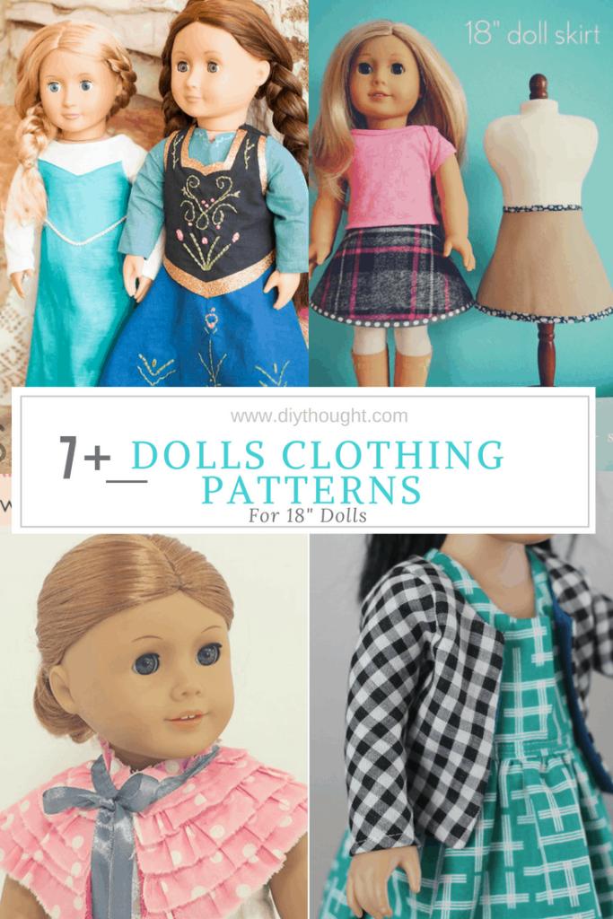 dolls clothing patterns