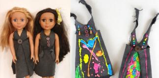 no sew dolls clothes