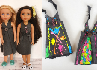 no sew dolls clothes