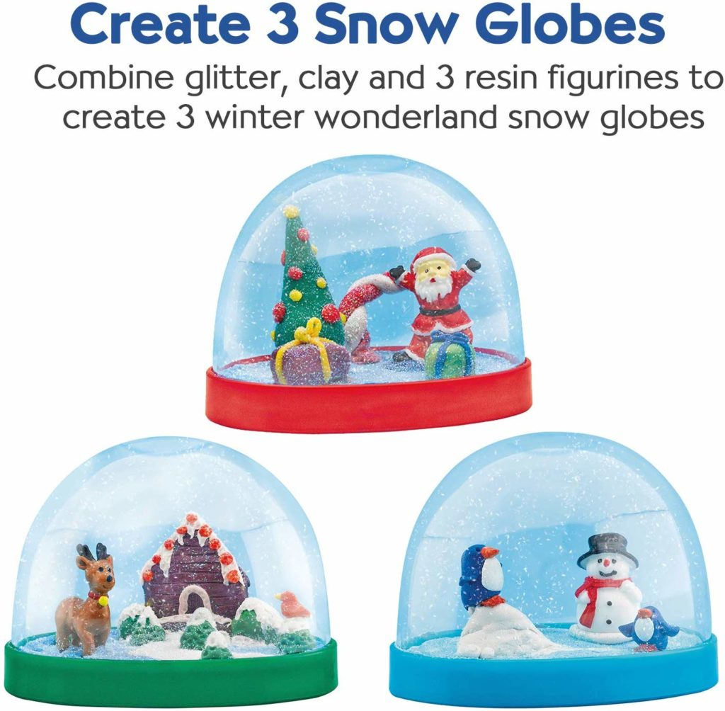craft kit for Christmas snow globe