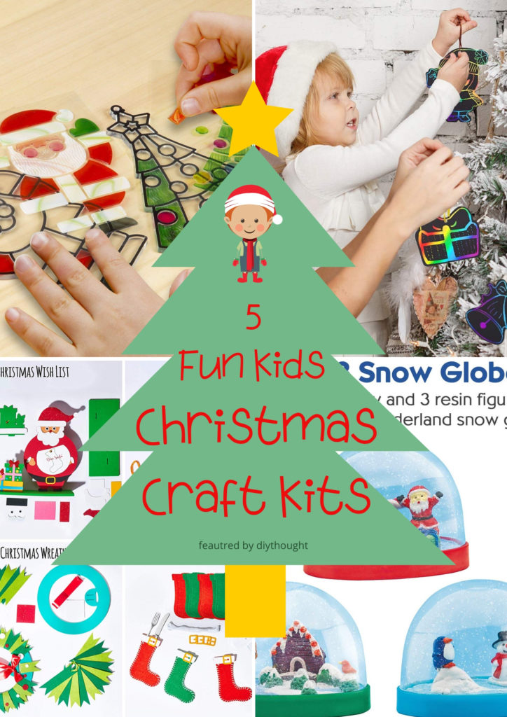 kids christmas craft kits