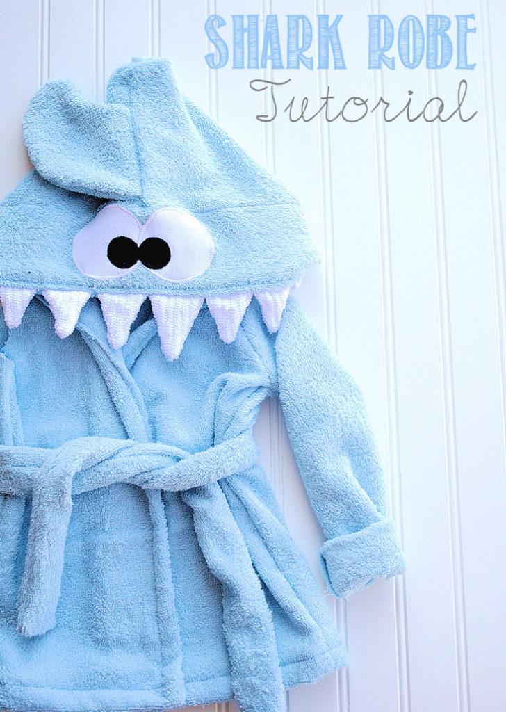 shark robe tutorial