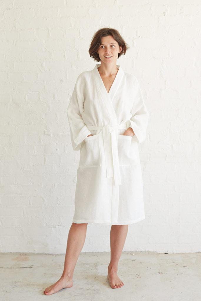 linen bathrobe patterns