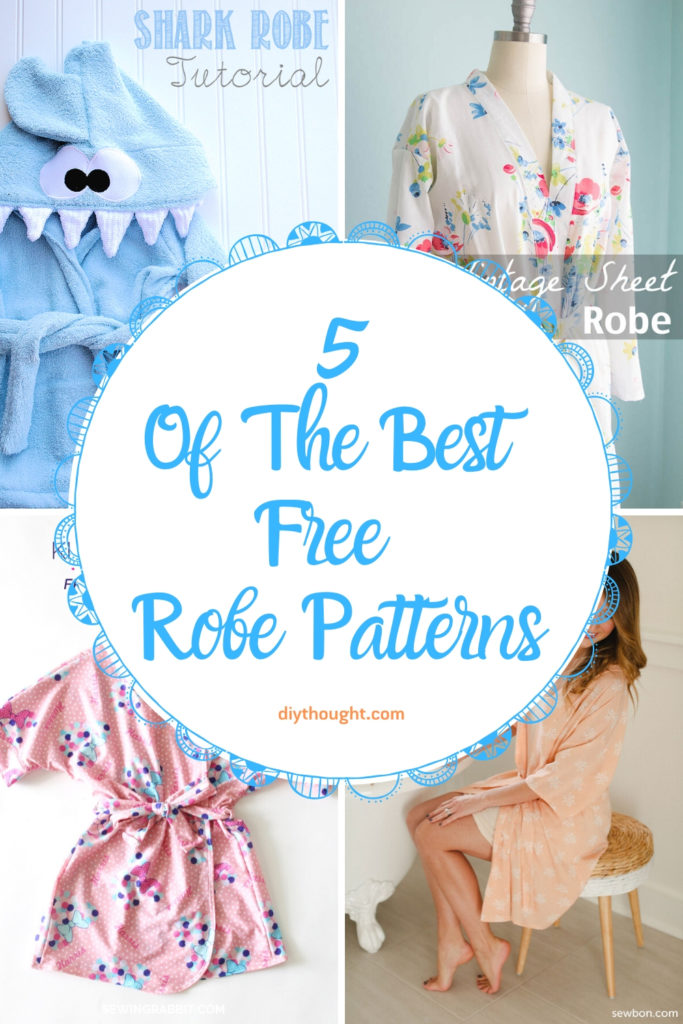 5 of the best free robe patterns