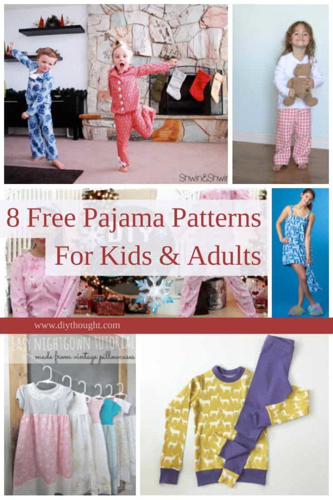 free pajama patterns