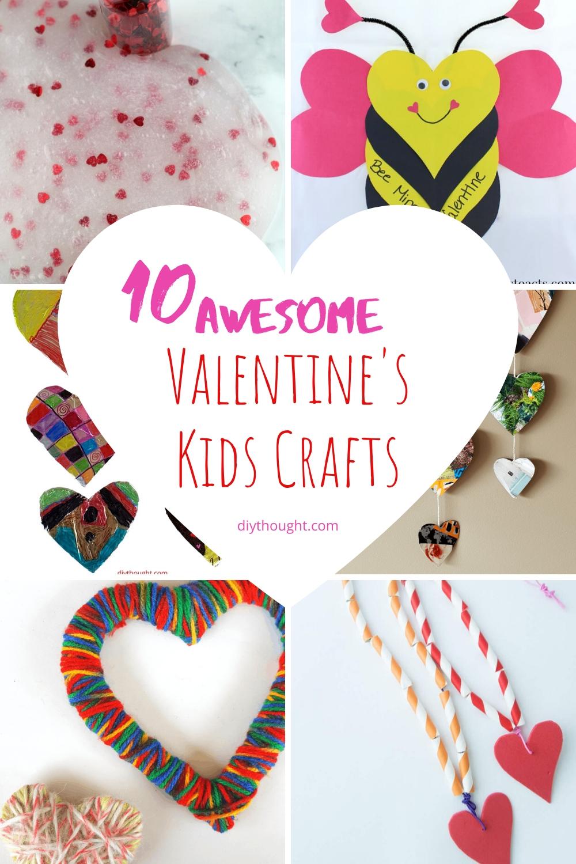 10 Valentine's Kids Crafts
