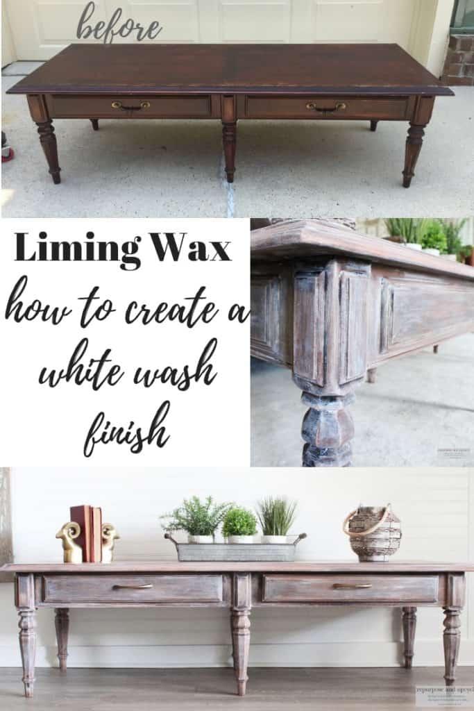 liming wax furniture finish