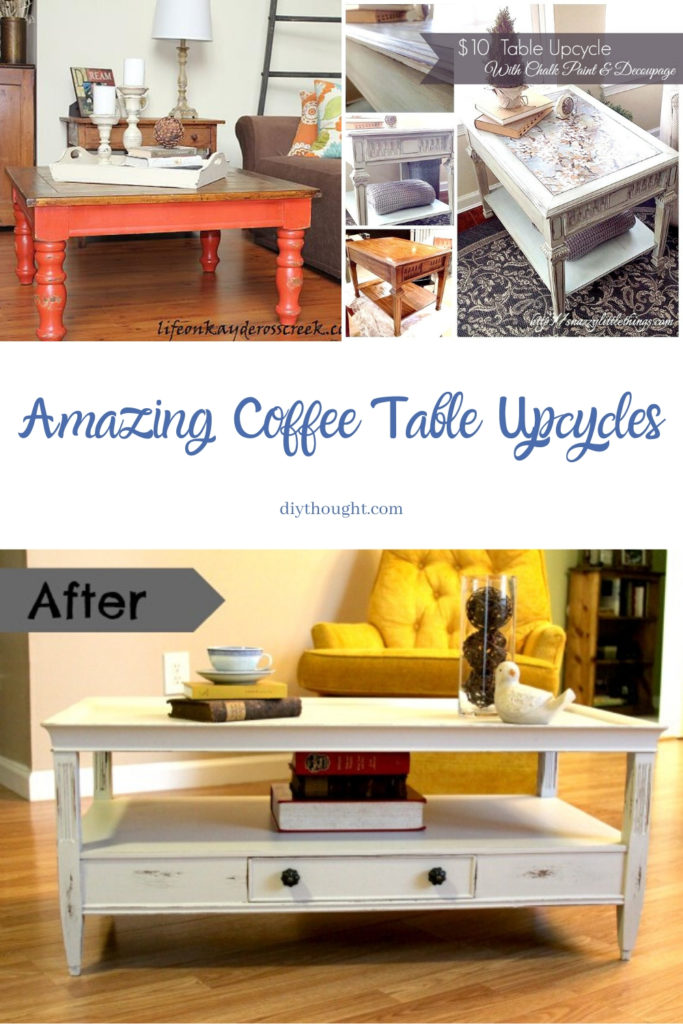 coffee table upcycles