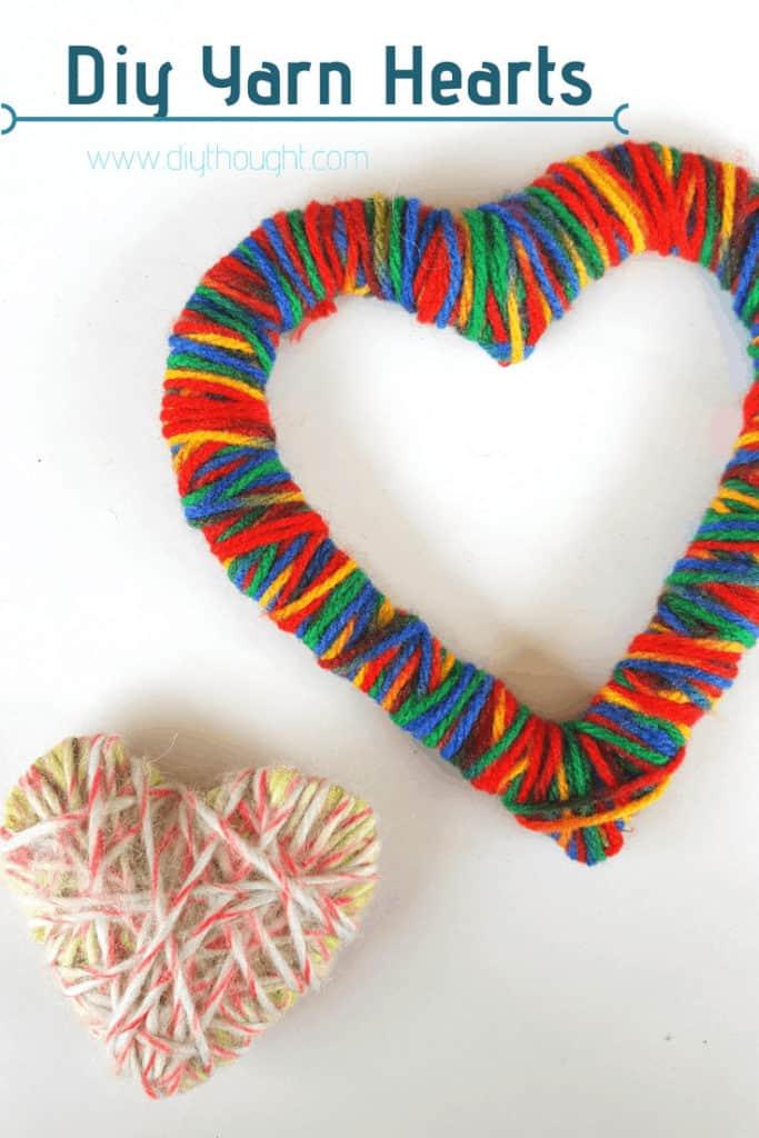 yarn heart craft