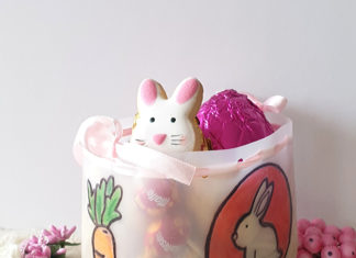 DIY milk jug easter basket