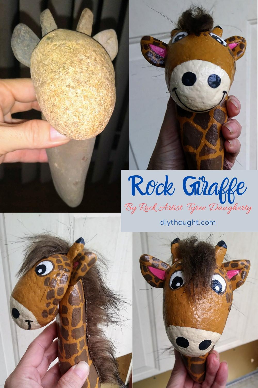 Rock giraffe