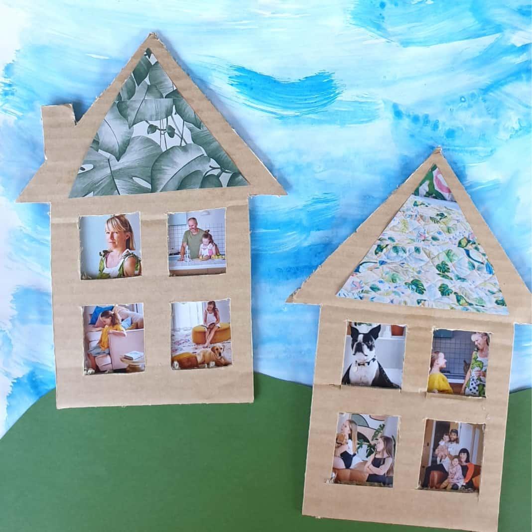 magazine and box house craft