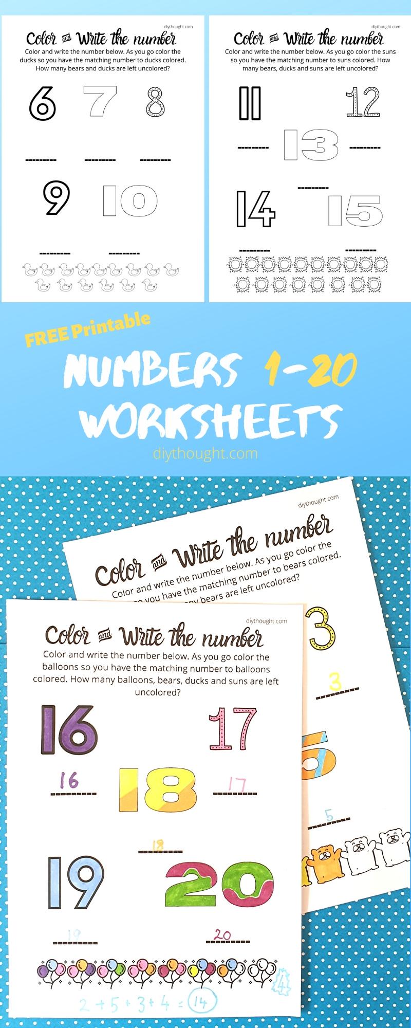math worksheet printables
