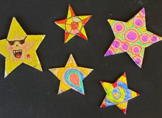 foil art stars