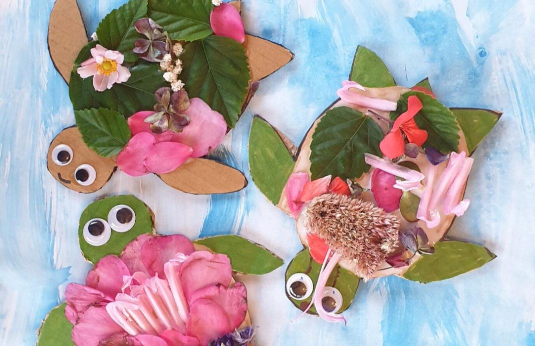 nature turtle craft