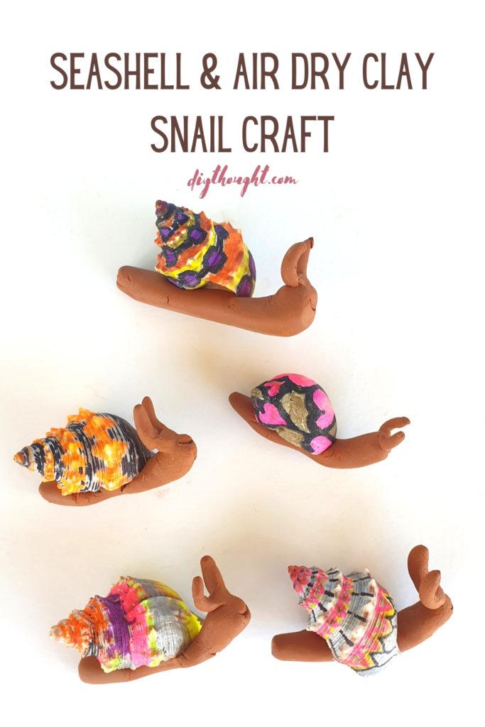 sharpie snail craft