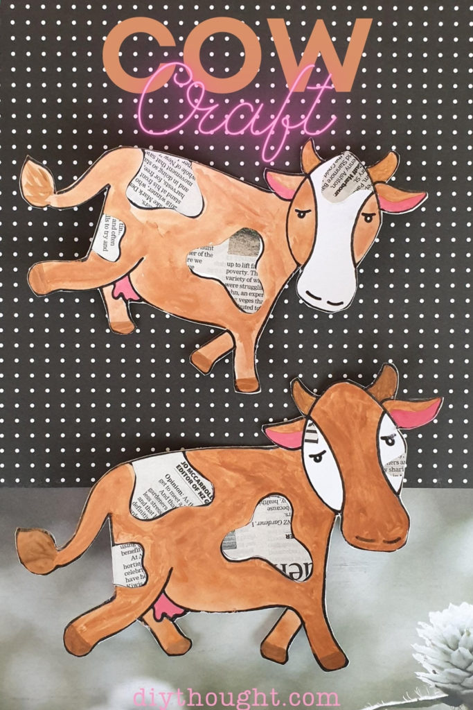 recycled cow craft