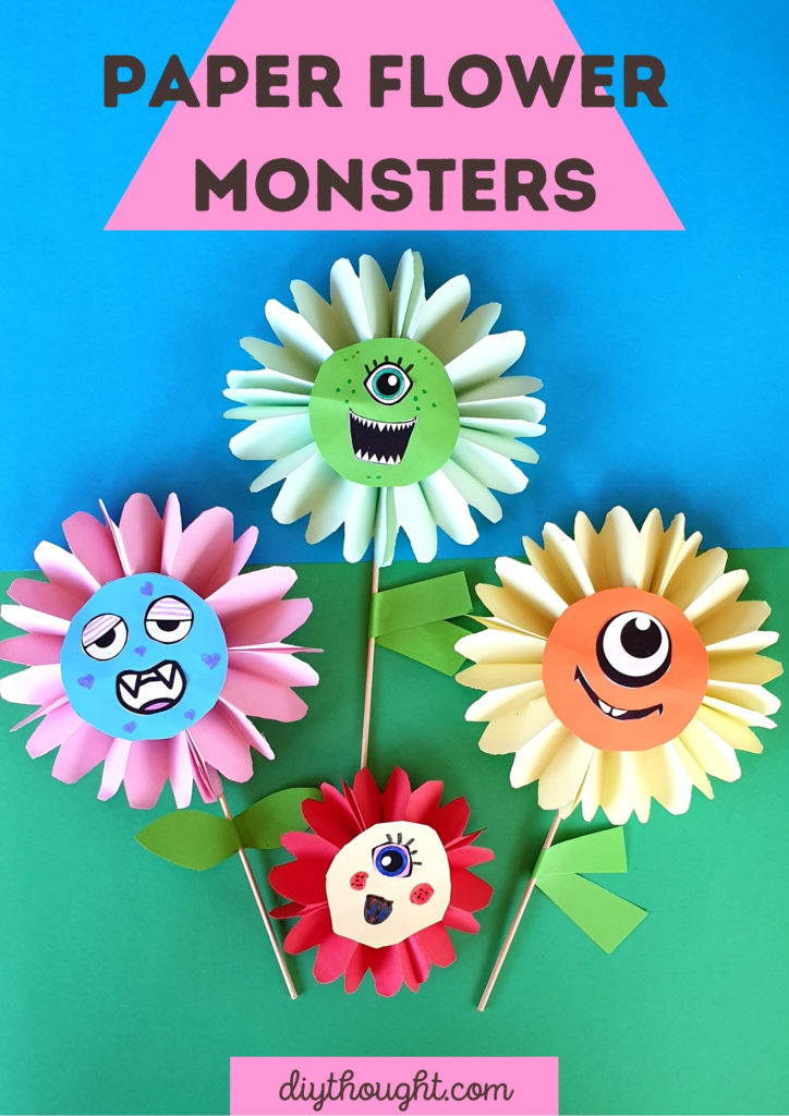 Paper Flower monsters