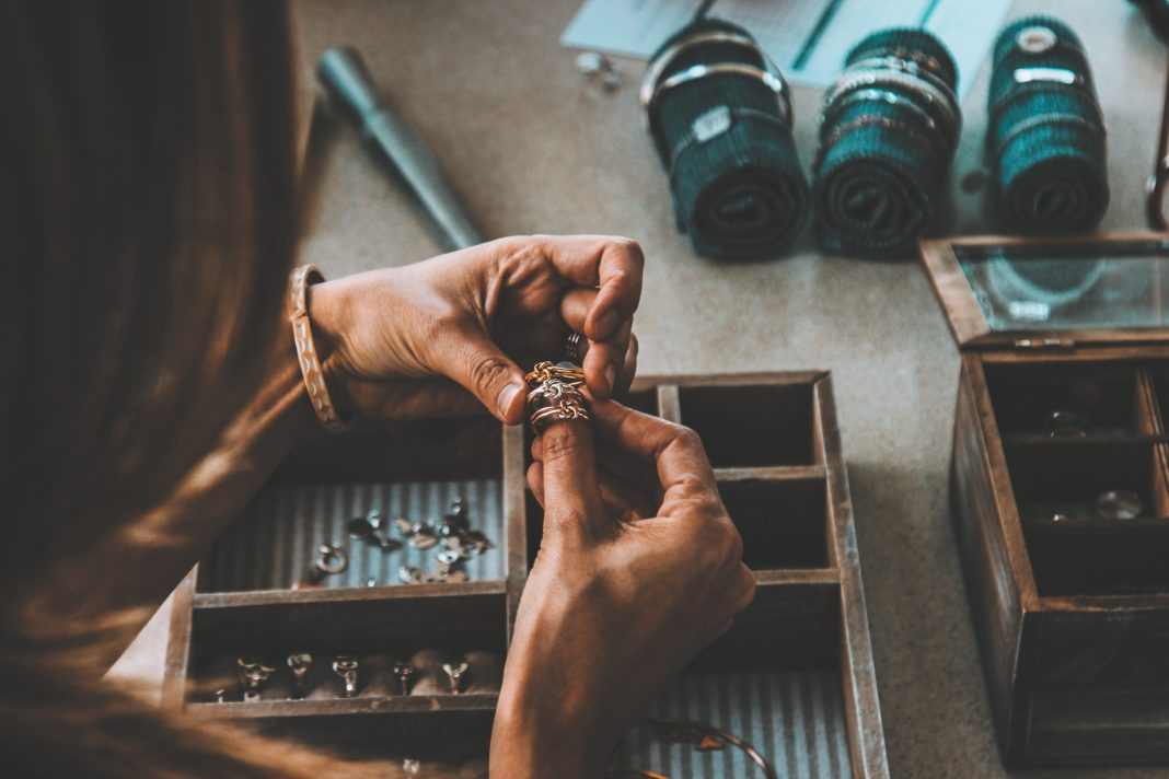 how to look after jewelry at home