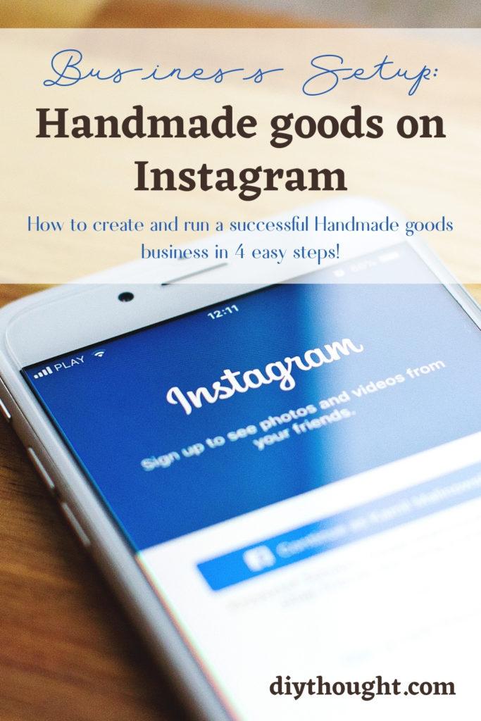 Business Setup: Handmade goods on Instagram
