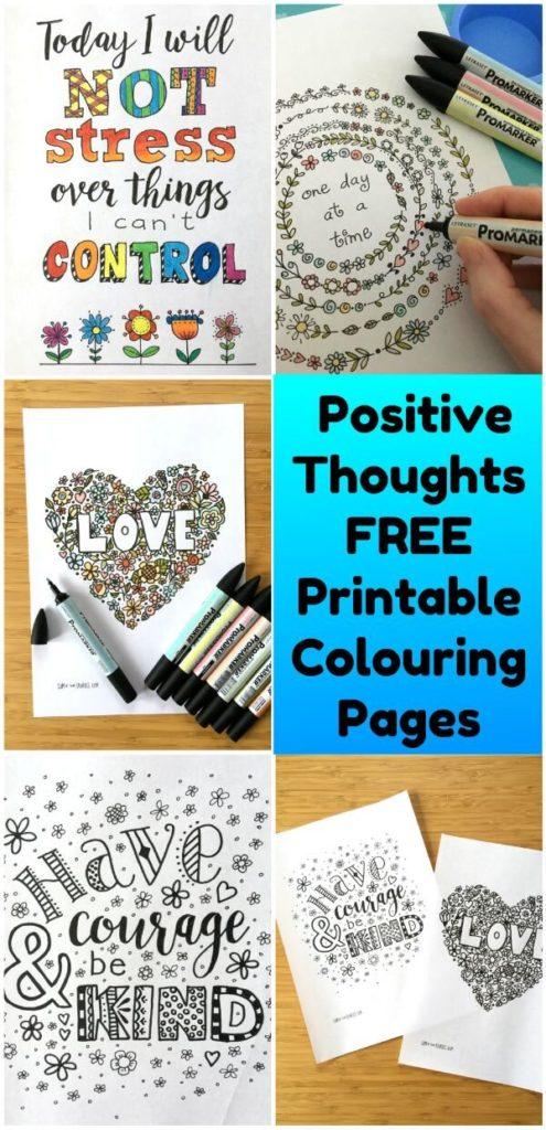 kindness coloring printable