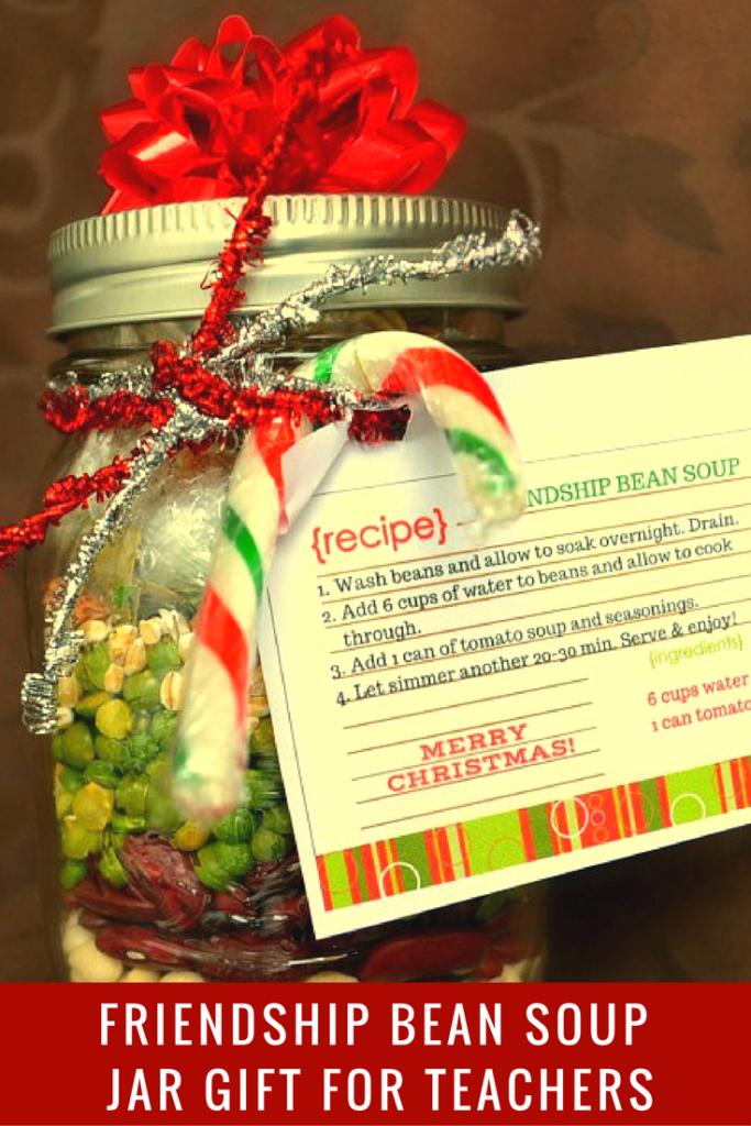 bean soup gift jar