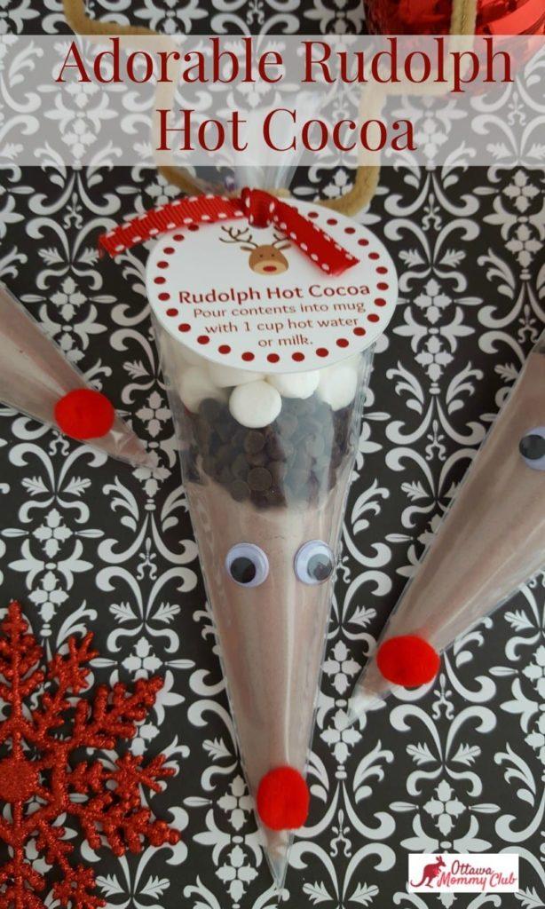 rudolph hot cocoa gift