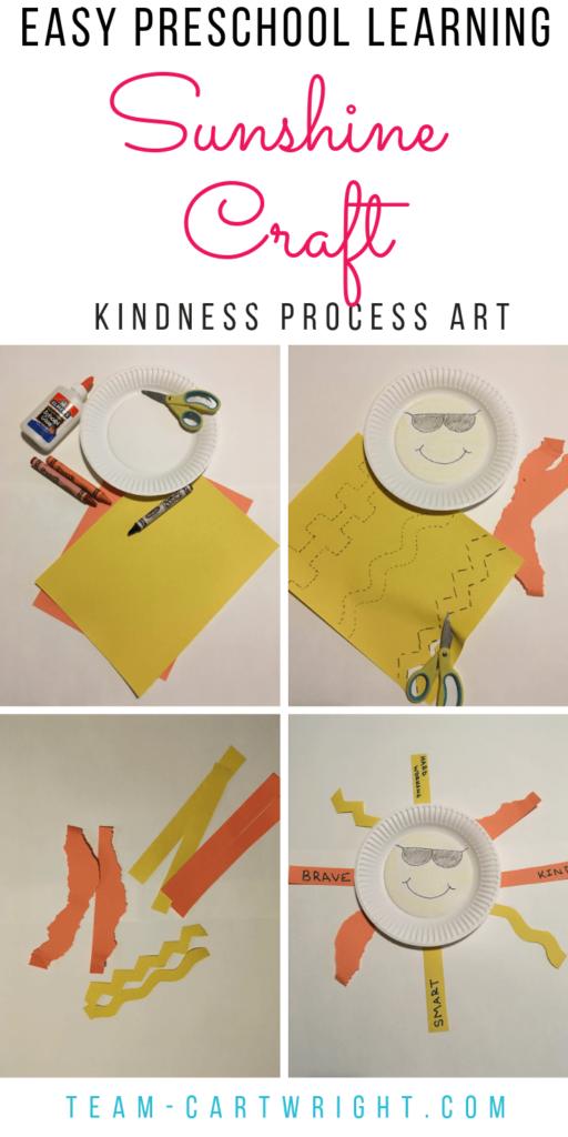 kindness sun craft