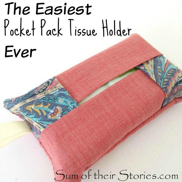 DIY tissue holder