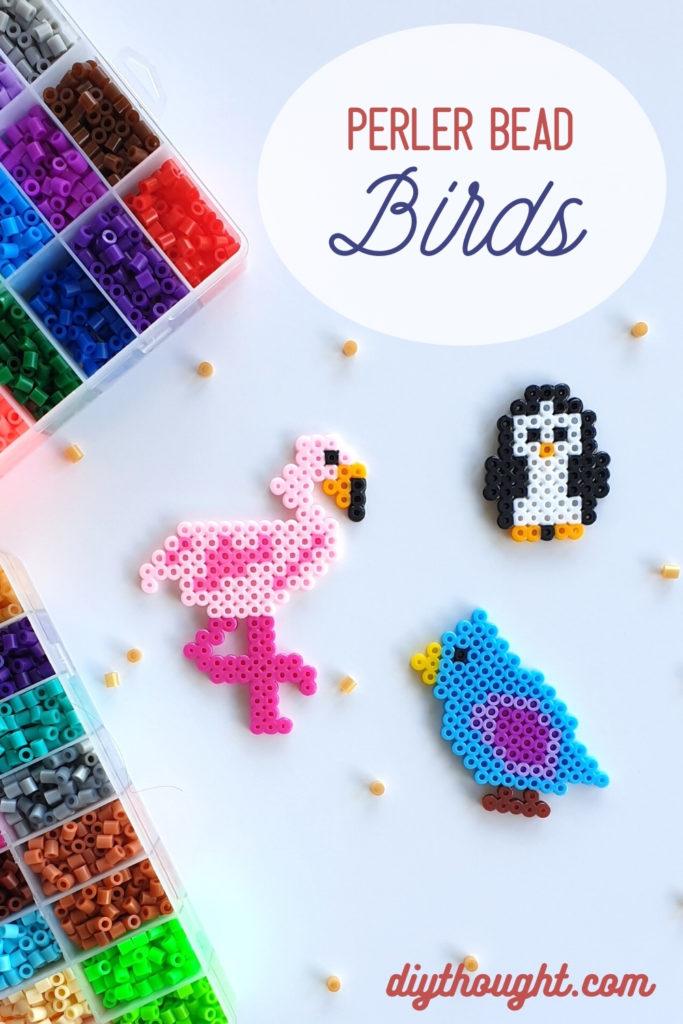 perler bead birds