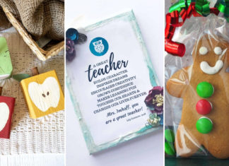 30+ Ultimate DIY Christmas Teacher Gifts