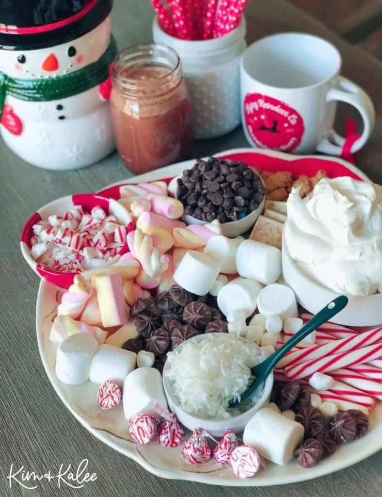 Hot chocolate Charcuterie/ Grazing Board