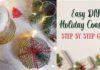 DIY Holiday Coaster