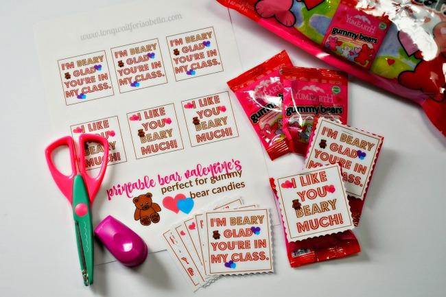 gummy bear cards