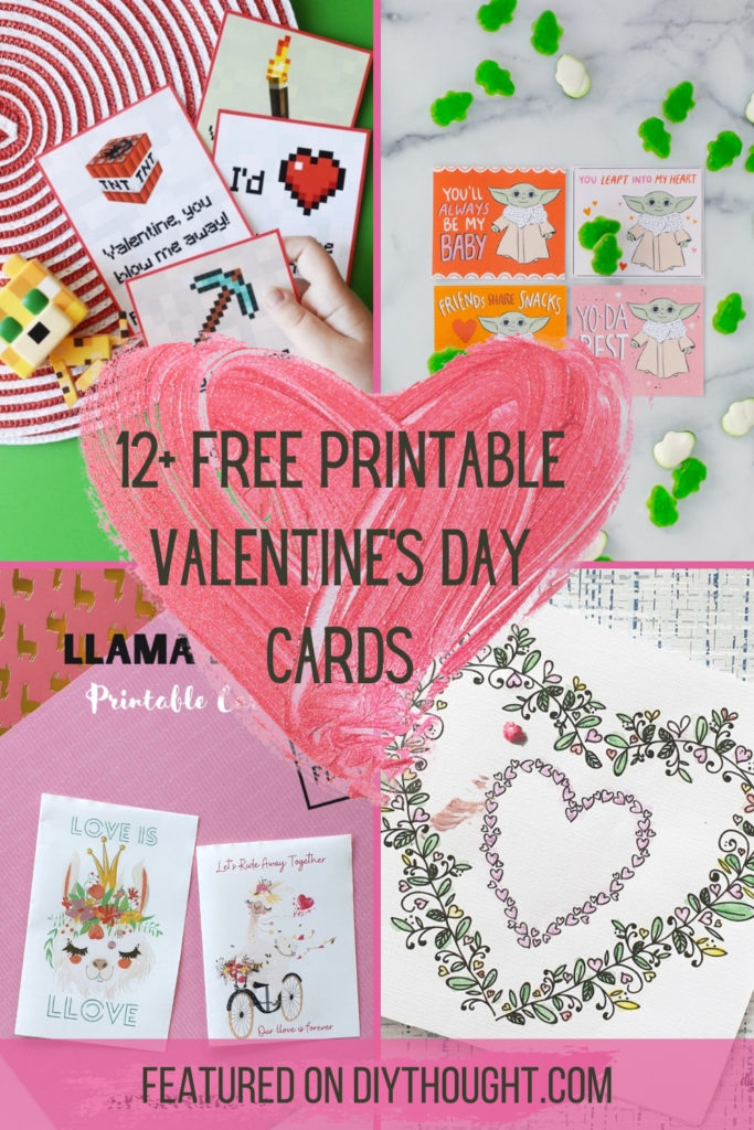 12+ Free Printable Valentine's Day Cards