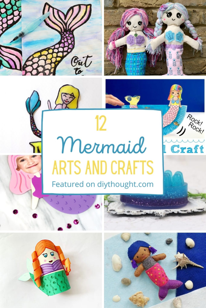 12 Mermaid Arts and Crafts