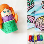 mermaid arts and crafts