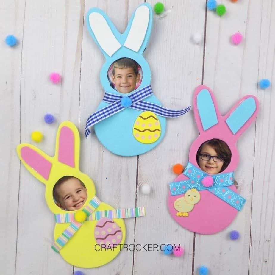 fridge magnet bunny craft