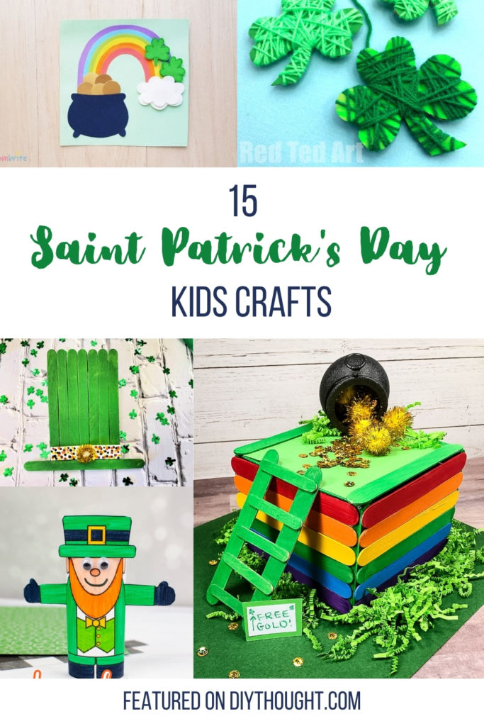 14 saint Patrick's day kids crafts