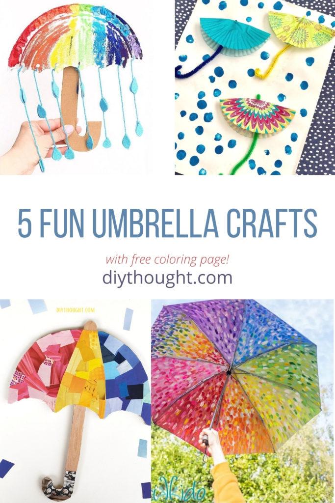 5 fun umbrella crafts