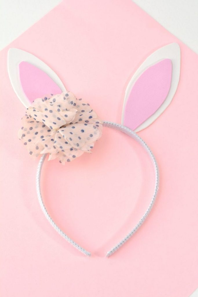 rabbit ears DIY headband
