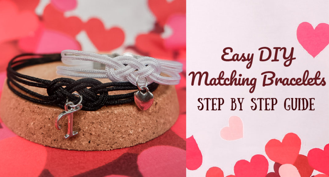 DIY matching friendship bracelets