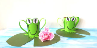 toilet tube frog craft